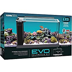 Fluval 10528A1 Evo V Marine Aquarium - Best Nano Reef Fish Tanks and Aquariums