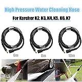 Kindlyperson 6M Tuyau d'extension d'eau pour laveuse à Haute Pression pour Nettoyeur Haute Pression Karcher K2 K3 K4 K5