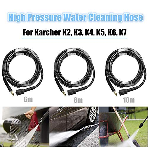 Kindlyperson 8M Manguera de extensión de Agua arandela de Alta presión para Limpiador de Alta presión Karcher K2 K3 K4 K5