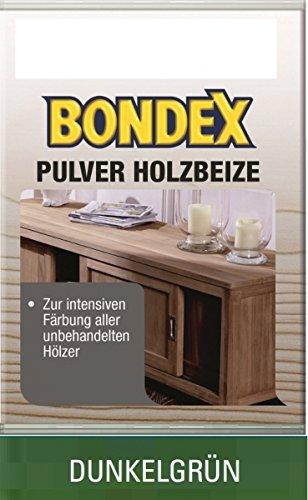 Bondex Pulverbeize Dunkelgrün 12,5 g - 352539
