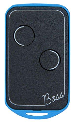 Telecomando universale Boss-qc2 quarzato 30,875 Mhz , 5 colori radiocomando disponibili 2 canali, compatibile con BFT TO2, Nice serie K e Bio, Benincà tasti azzurri, Dea, Allmatic, Faac, Quasar, Albano