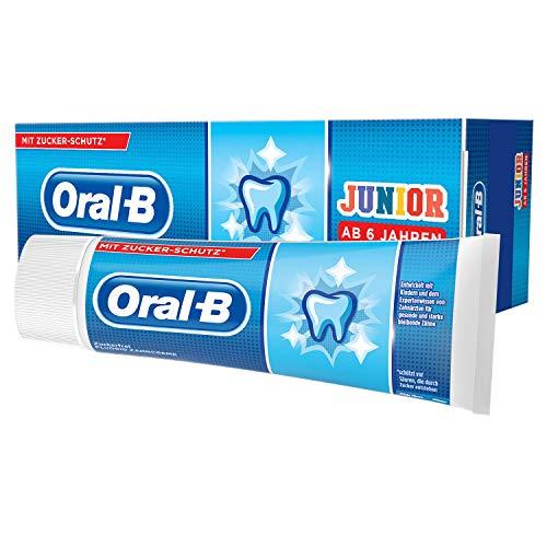 Oral-B Junior Zahncreme, Ab 6Jahren, Milde Minze, 75ml