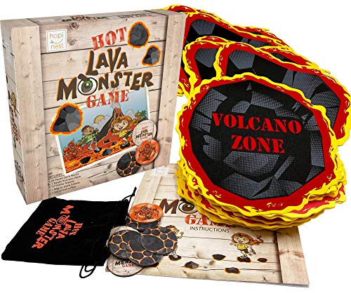 Hot Lava Monster Game - Indoor or Outdoor Family Activity for Kids Ages 3 Years and Up