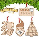 Kexle Christmas Ornaments, 2020 Christmas Ornament Quarantine Christmas Decorations Clearance Funny Home Decor 2020 Christmas Ornaments - 2020 Ornament