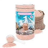 NortemBio Cristales Rosas del Himalaya 1,5 Kg. Extrafinos (0