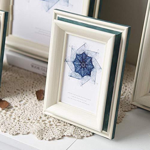 Xqsb fotolijst voor foto of afbeeldingen plaatsen of aan de muur hangen Fotogröße 30,5 cm × 40,6 cm blauw