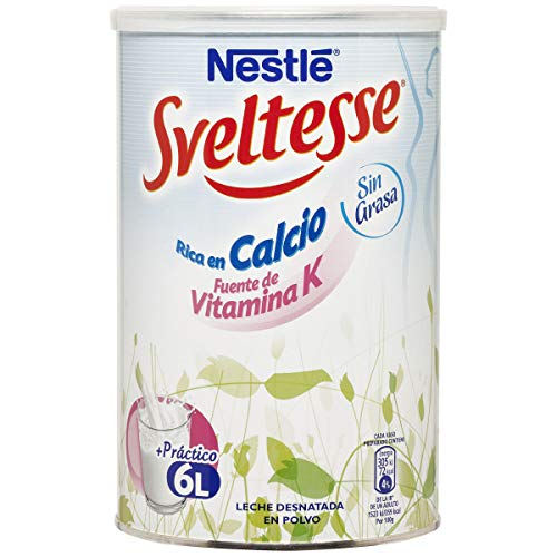 SVELTESSE leche en polvo bote 600 gr