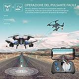 Zoom IMG-2 snaptain s5c drone con telecamera