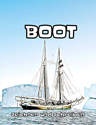 Boot: zeichnen und schreiben