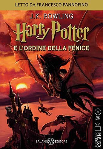 Harry Potter e l'Ordine della Fenice - Audiolibro CD MP3: Vol. 5