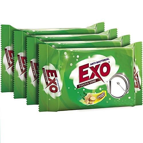 Exo Dishwash Bar – 115 gm/120gm (Pack of 3+1)
