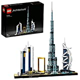 LEGO Architecture Modèle Dubaï, Skyline Collection, Ensemble de construction à collectionner, 129 pièces, 21052