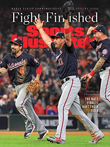 "Nationals World Series Victory on Huge 13""x17"" Sports Illustrated Cover"
