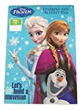Disney Frozen Coloring & Activity Pad ~ Let's Build a Snowman (2014; Exclusivo Printing; 5.25 x 7.75)