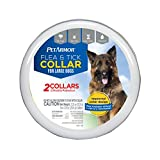 PetArmor Flea & Tick Collar for Large Dogs, Flea and Tick Prevention, Each Collar Protects for 6 Months, 2 Collars Included