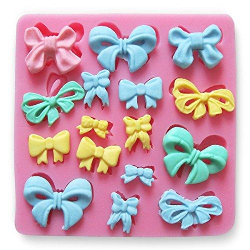 Kuchenform in Schleife, Kuchendekoration, DIY-Form für Eiswürfel, Schokolade, Kuchen, Cupcake, Seife, Formen