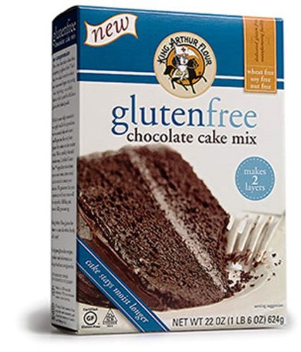 King Arthur Chocolate Cake Mix - Gluten Free, 22-Ounce (Pack of 3)