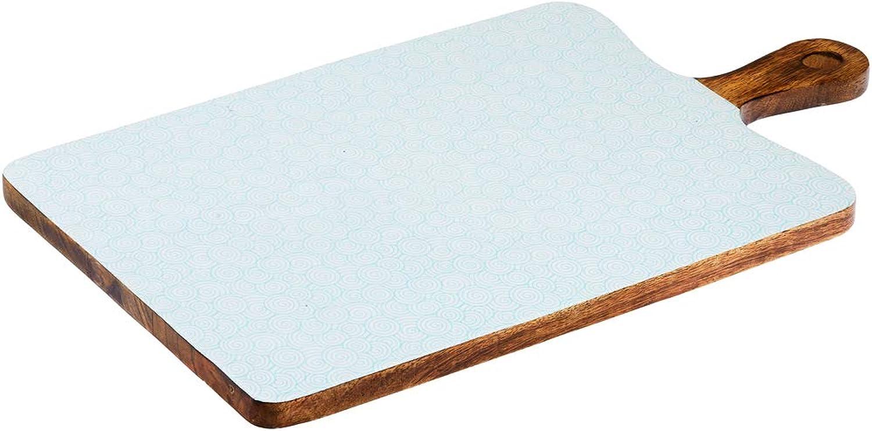Bjorn Planche de Service en Bois de hommeguier 27  48cm - Swirl Couleur