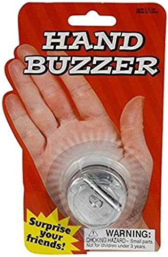 Metal Hand Buzzer by Nicky Bigs Novelties