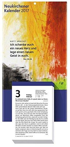 Neukirchener Kalender 2017: Abreißkalender - Block mit 384 Blättern und Rückwand