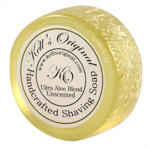Unscented Shaving Cake shave soap by Kell's...