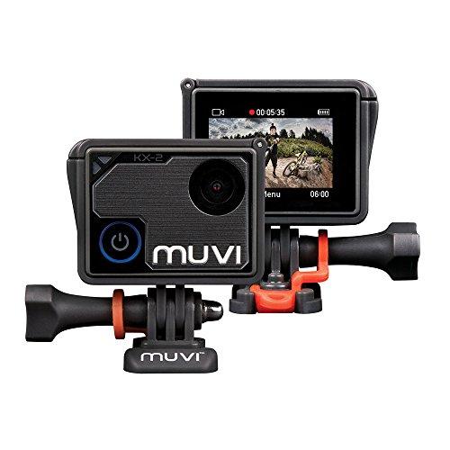 "Veho Muvi Digital Camcorder, 1.8"" LCD Touchscreen, 4K"