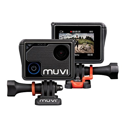 Veho Muvi KX-2 Pro Action Camera | KX-Series | Handsfree Camcorder | WiFi | 16GB microSD Card | 4k Action Cam | 12MP…