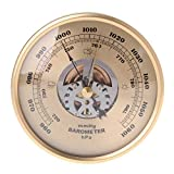 CLCTOIK 108mm Wall Mounted Barometer Air Weather Station Barometer