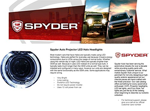 LED halo Headlights for Chevy Silverado 1500 2500 3500 07-13 - Black / Clear Lens