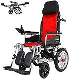 Sillas de ruedas eléctricas para adultos Energía Eléctrica plegable silla de...
