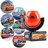 Projectables, 6-Image, Cars LED Night Light, Plug-In, Dusk-to-Dawn, for Kids, Lightning McQueen, Mater, Holly on Ceiling, Wall, or Floor, 11740