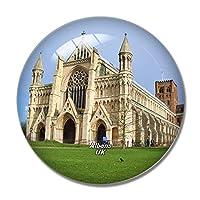 イギリスイングランドセントオールバンズ大聖堂冷蔵庫マグネットホワイトボードマグネットオフィスキッチンデコレーション