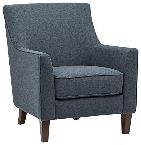 Stone & Beam Cheyanne Modern Living Room Accent Arm Chair, 30.7'W, Denim