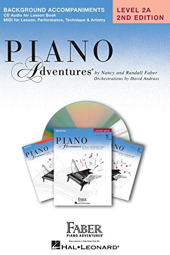 Piano Adventures - Level 2A Lessons Book CD