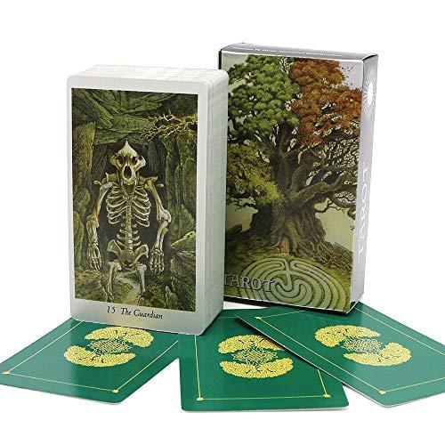 LINANNAN Wildwood Tarot Karten Deck Full Englisch Mysterious Natur Tier Weissing Fate...