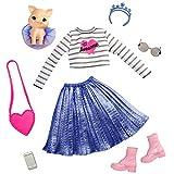 Barbie Mascotas y Princesa con Cerdito Pack de Moda y Accesorios (Mattel GML64)
