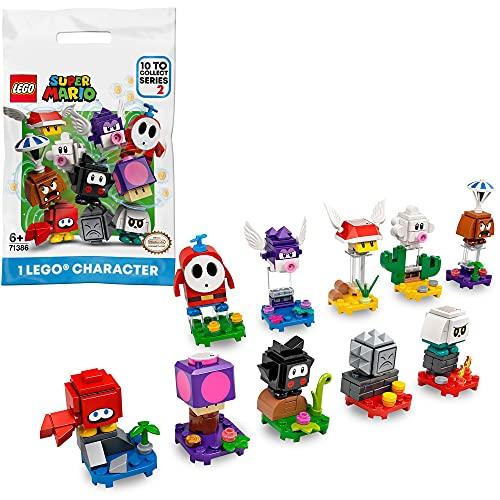 LEGO 71386 Super Mario Mario-Charaktere-Serie 2 Paket, Spielzeug zum Sammeln, 1 Einheit (zufällig ausgewählter Stil)