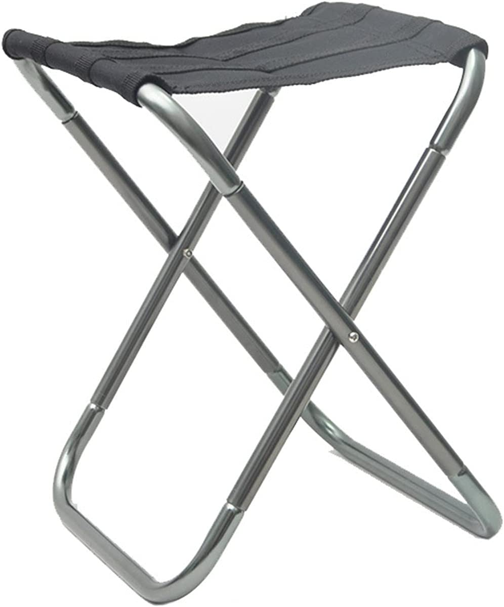 LWZ Rapid rise Outdoor Max 54% OFF Portable Aluminum Camping Folding Stool Ch