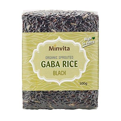 Minvita | Organic Gaba Rice - Black | 1 x 500g