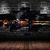 Airxcn Kreatives Geschenk 5 Panel Leinwand Wandkunst