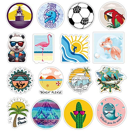 100Pcs/bag Mixed Cartoon Toy Stickers For Car Styling Bike Motorcycle Phone Laptop Travel Luggage Cute Funny Stickers