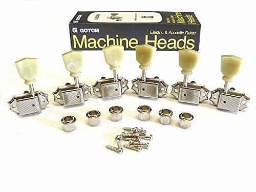 Locking Mechaniken/Tuner Gotoh SD 90 Magnum Lock Vintage Tulip 3li/3re