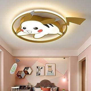 WJLL Plafonnier Moderne Chambre d'enfant Lampe De Plafond Lustre 39W LED Dimmable avec Télécommande Éclairage De Plafond P...