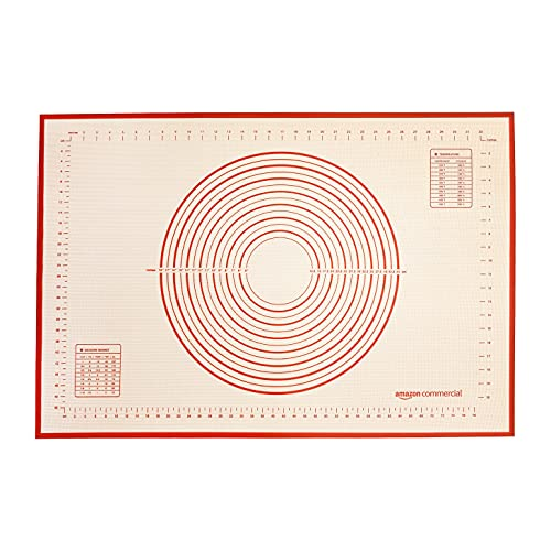 AmazonCommercial Silicone Pastry Mat with Measurements (36 x 24 IN)