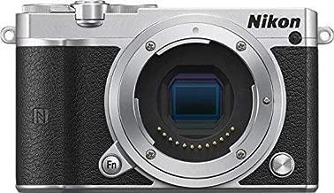 Nikon 1 J5 Mirrorless Digital Camera (Silver Body Only) (International Model) No Warranty
