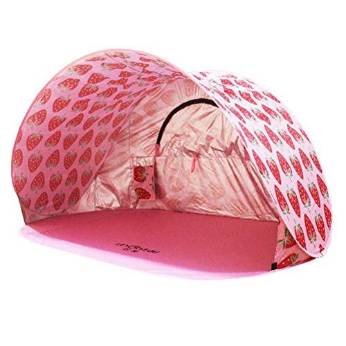 Abaodam Tienda de campaña impermeable al aire libre tienda de campaña de playa con bolsa de almacenamiento herramienta de camping