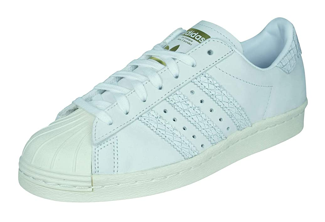 ピーク誇大妄想無限大[アディダス] Originals Superstar 80s Womens Leather Sneakers/Shoes [並行輸入品]