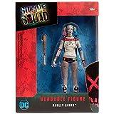NJ Croce Suicide Squad Harley Quinn Bendable Action Figure, Multicolor, 8'