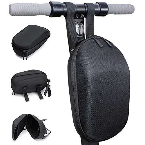 Seway Scooter Storage Bag for M365 Scooter and ES Series, Electric Scooter Front Hanging Bag Durable EVA Fit for Carring Charger Tools, Compatible M365 / ES