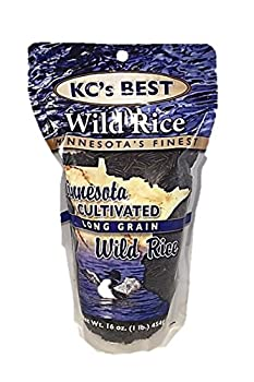KCs Best Long Grain Cultivated Wild Rice  16 oz